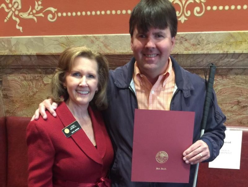Mike Hess Recognized By Senator Linda Newell For Recent Appointment To Denver Commission For People With Disabilities