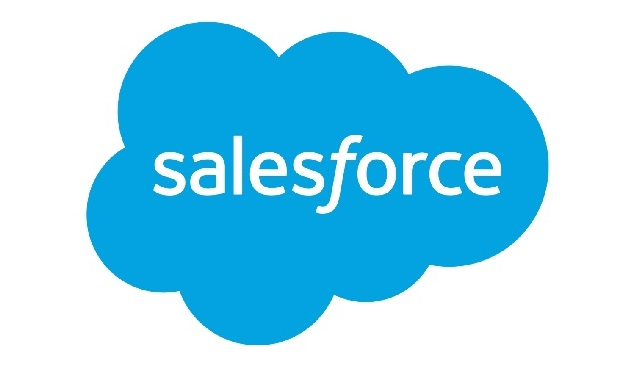 Image is of the Salesforce logo